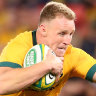 How two players won the Test for the Wallabies