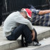 Homeless with nowhere to go told they can't sleep rough by authorities
