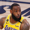 Los Angeles Lakers run away from banged-up Miami Heat in game one of NBA finals