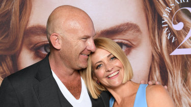 Matt Moran and Kellie Hush.