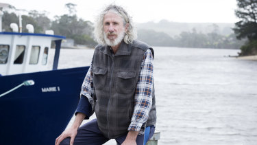 """""""Everyone around here knows me,"""" says fisherman Craig Garland, a candidate in the Braddon byelection."""