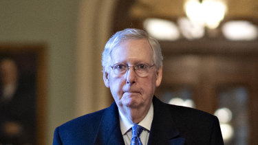 """Mitch McConnell: House Democrats """"too afraid"""" to transmit """"their shoddy work product""""."""