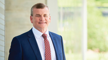 Queensland Law Society president Ken Taylor.