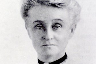 Edith Cowan, a conservative and the first woman elected to an Australian parliament.