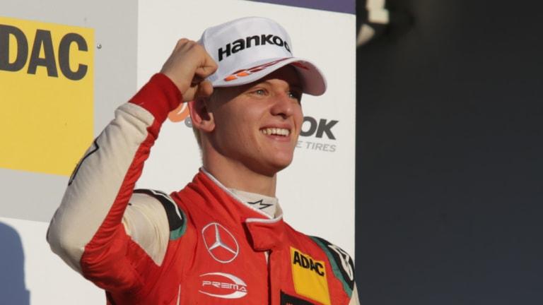 Triumph: Mick Schumacher has taken out the Formula 3 championship.