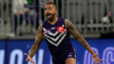 Fremantle's Brad Hill is keen to get to St Kilda.