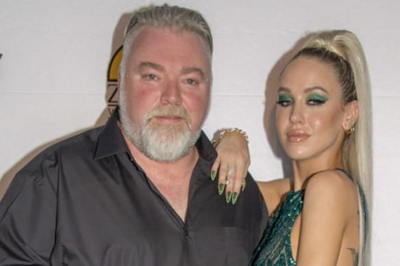 Social Seen: Kyle Sandilands and Imogen Anthony's colourful charity ball