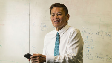 Optus chief executive Allen Lew has told staff there will be hundreds of job cuts across the business.