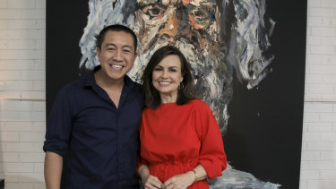 Anh's Brush with Fame - Lisa Wilkinson