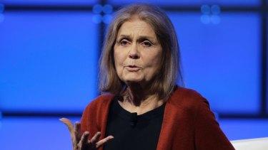 Feminist icon Gloria Steinem.
