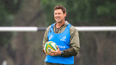 Scott Wisemantel runs an eye over Wallabies training in the Hunter Valley this week.