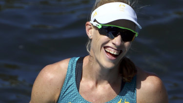 'This means so much': Rio Olympic rowing champion Kim Brennan hailed the cash boost.