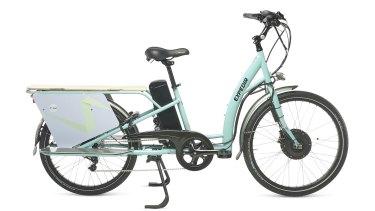 The eZee Expedir 9S Classic electric cargo bike.
