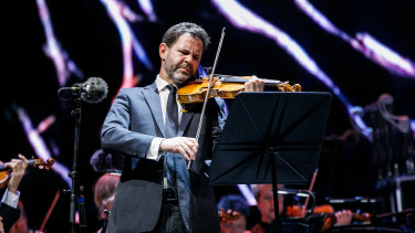 Andrew Haveron performs in Sydney Symphony Orchestra's The [Uncertain] Four Seasons.