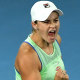 Barty edges into Open quarters after scare