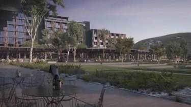 The planned Westin Coolum Resort & Spa as part of the Yaroomba Beach development on the Sunshine Coast.