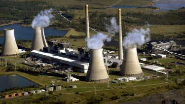 AGL's Bayswater coal-fired power station in the Hunter Valley, one of five in NSW that have been tied to health impacts including early deaths.