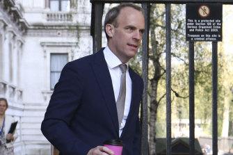 Foreign Secretary Dominic Raab.