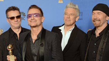 Homeless in Sydney? U2's Larry Mullen Jr., Bono, Adam Clayton and The Edge are planning to tour later this year.