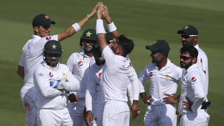 Pakistan cricketers.