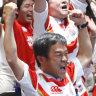 Brave Blossoms fever: Japan boilover grips imagination of Tokyo