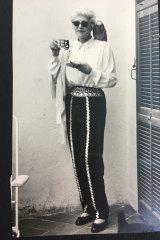 Still glamorous in her 70s.