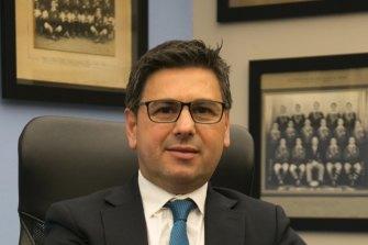 Sharks chief executive Dino Mezzatesta.