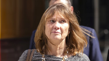 TAL's Loraine van Eeden leaves court this week.