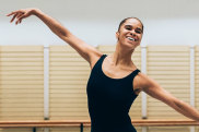 Misty Copeland rehearsing the role of Sylvia at the Sydney Opera House. Photos by Kate Longley.