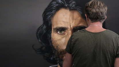 My Archibald entry of Behrouz Boochani, the refugee who refused to be invisible