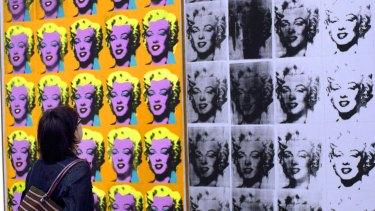 The Mugrabi's are believed to own about 1000 Andy Warhol pieces.