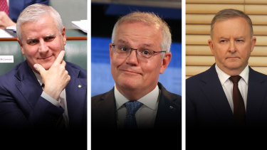 Michael McCormack's Nationals and Scott Morrison's Liberal Party have the lead in donations over Anthony Albanese's Labor Party.