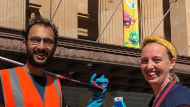 "Greens lord mayoral candidate Kath Angus and Cr Jonathan Sri pledged to ""clean up"" Brisbane City Council's planning legislation."
