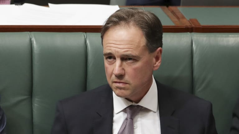 Health Minister Greg Hunt says he will revisit the legislation for My Health Record.