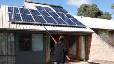 Solar panels are increasingly being used by households to combat hefty rises in power prices.