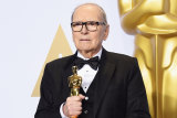 Composer Ennio Morricone, winner of the best original score Academy Award for The Hateful Eight in 2016,  had died at 91.