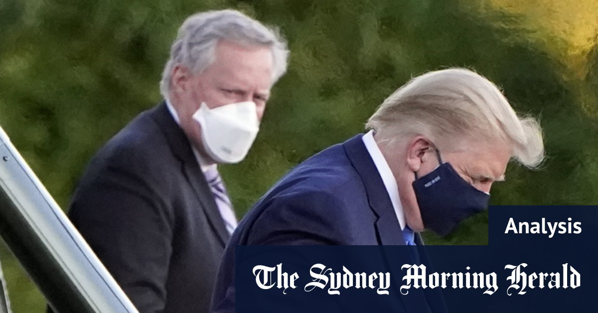 Confused messaging adds to angst over Trump's COVID condition – Sydney Morning Herald