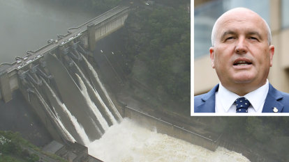 Raising dam wall could lead to more development on floodplain, Emergency Minister says