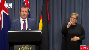 WA Premier Mark McGowan has delayed the easing of restrictions in WA.