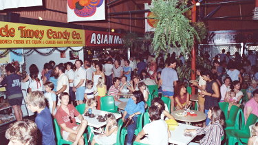 The old Subiaco Pavilion Markets in 1983.