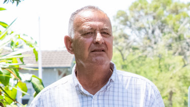 Milton Orkopoulos outside court in January.