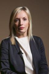 Christine Holgate left Blackmores to run Australia Post.