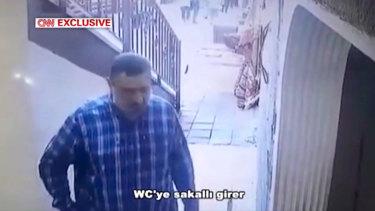 The alleged body double for journalist Jamal Khashoggi.