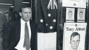 Tony Abbott won the blue ribbon Sydney seat of Warringah in 1994.