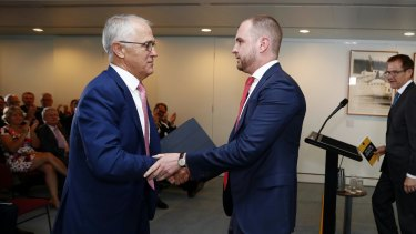 Former acting Liberal Party director Andrew Bragg is considered a close ally and friend to Malcolm Turnbull.