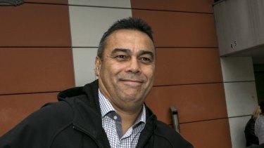 Former senior constable Simon Mareangareu.