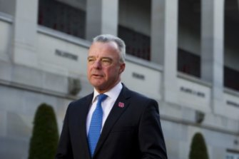 Australian War Memorial director Brendan Nelson, who has defended naming a federal electorate after Charles Bean.