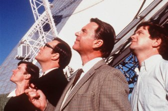 Sam Neill also starred in the 2000 film The Dish, which celebrated CSIRO's Parkes observatory's role in the moon landing.