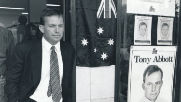 Tony Abbott won the blue ribbon Sydney seat of Warringah in 1994.