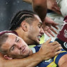'I was shattered': Taupau says his heart sank after high shot on Stone